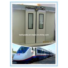 Aluminum Alloy Electro-Hydraulic-Control Baiparting Train Door