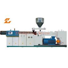 Machines parallèles jumelles d'extrudeuse pour le profil de feuille de tuyau de PVC