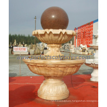 Garden Ball Fountain for Stone Marble Granite Water Fountain (SF-B098)