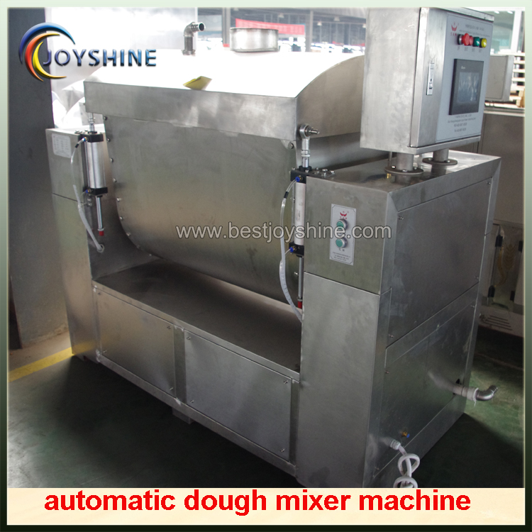 automatic feeding dough mixer machine
