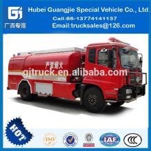Dongfeng Tianjin camión de petróleo Doble Fuel Oil a prueba de fuego entrega Tanker Truckfor venta