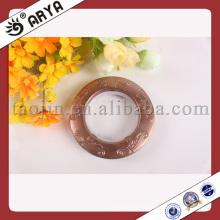 Anéis de cortina Eye de cortina de plástico, fabricante