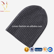 Latest Cable Knitting Cashmere Beanie Hat/Winter Knitted Beanie