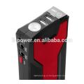 Двойной USB 12V пусковой стартер 18000 mah мини-пускатель с зажимами Inteligent