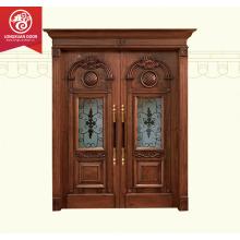 Main double door wooden/outdoor for house/designs doors/Exterior double door                                                                         Quality Choice