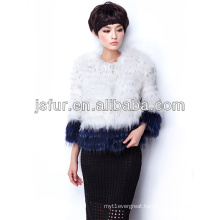 2013 fashion and noble hotsale in EU real raccoon fur jacket