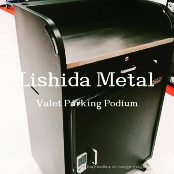 Valet-Parking-Podium aus Stahl im Großhandel mit 150 Schlüsselsystemen