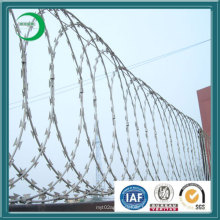 Clôture galvannisée chaude de fil de fer barbelé pour l'aéroport (xy-s28)