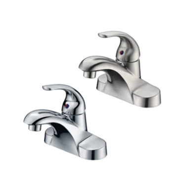 "4"" single handle lavatory faucet"