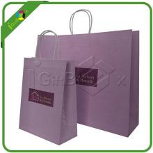 Printed Cloth Kraft Paper Shopping Bags