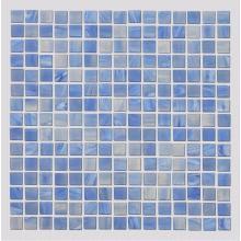 Стеклянная мозаика для стен голубого аквариума