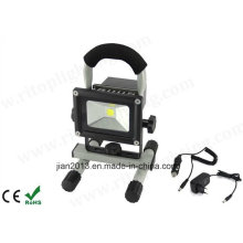 5W IP65 imprägniern im Freien LED nachladbare Flut-Licht