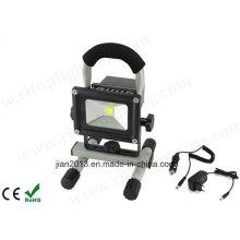 5W IP65 Водонепроницаемый Открытый светодиодный аккумуляторный свет потока