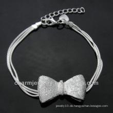 Heißer Verkaufs-nette Charme 925 silbernes Armband für Mädchen BSS-023