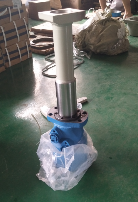 Concrete Pump Hydraulic Motor And Mixing Shaft Complete
