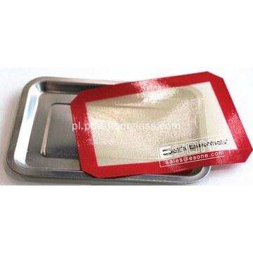 Non-stick silicone baking mat for cooking