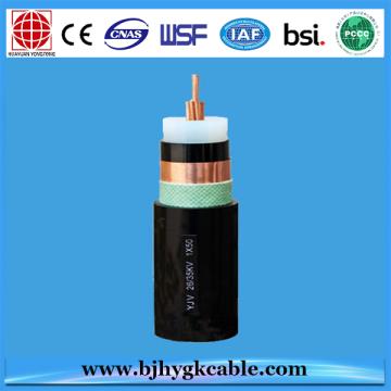 33 КВ 1*400sqmm медный проводник стальной ленты кабеля armouring