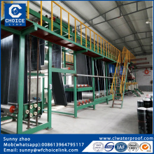 SBS asphalt roofing sheet waterproof building material machinery