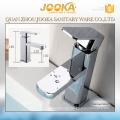 2017 square chrome single lever handle wash sink basin faucet