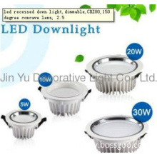 Led recessed down light,dimmable,energy much saving,manufacture,China