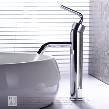 HIDEEP Full Copper Encime Counter Basin Faucet