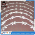 Low price concertina razor barbed wire mesh / fencing