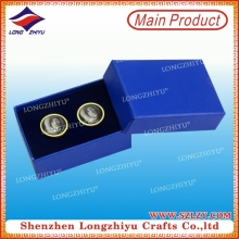 Wholesale Metal Cufflink with Box