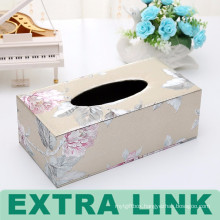 New High End Design Full Color Paper Tissue Box
