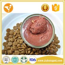 Fábrica de alimentos para gatos sabor de pollo gato puede lanchas comida de gatos en lata