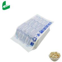 Sacs en papier pour pop-corn micro-ondes en papier résistant à l'huile Kraft