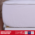 Cotton Fabric Material Fitted Sheet Style Mattress Protector