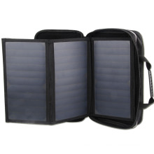 Solar cell phone charger 20Watts foldable solar panel charger China manufacturer