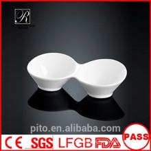 Завод керамической керамики P & T разделил блюдо сои, блюдце круглой тарелки