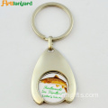 Trolley Coin Key Holder con logotipo