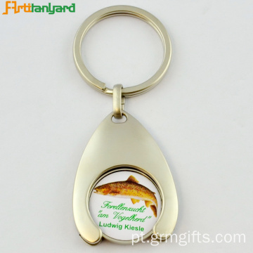 Trolley Coin Key Holder With Logo