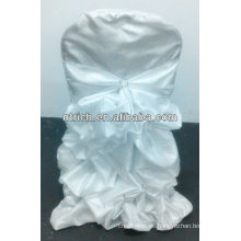 Luxus!!! Taft/Satin gekräuselten Stuhlhussen für Hochzeit