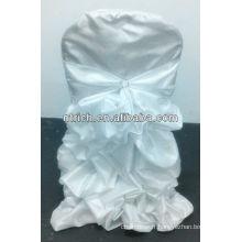 Luxe!!! Housses de chaise froissée Taffetas/Satin pour mariage