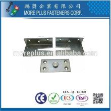 Taiwán Acero inoxidable 18-8 de latón de cobre Cuña sujetador Tapper Connector Fasteners decorativos