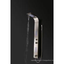 panneau de douche de salle de bain en acier inoxydable