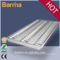 Lampe à grille avec des montages fluorescents t5 4 pi 4 * 2