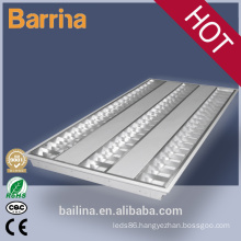 Grille lamp with fluorescent t5 4ft fixtures 4*2