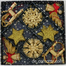 Goldene Christbaumkugel