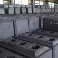 Aluminium smelting use carbon prebaked anode