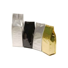 Plastik ritsleting Flaxseed Packaging Bag