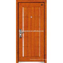 Porte blindée en acier acier blindé, porte blindée de sécurité