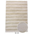 Bande polyester soie Design tapis Shaggy