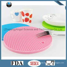 Thicker Heat Resistant Silicone Cup Pad, Silicone Coaster Sm09