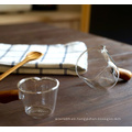 Tarro de cristal transparente y doméstico con tapa