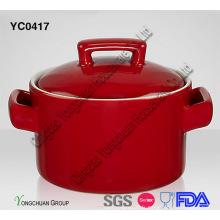 Plat de casserole en couleur solide pour gros