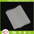 Papel branco natural do empacotamento de alimento do papel da prova da graxa do produto comestível